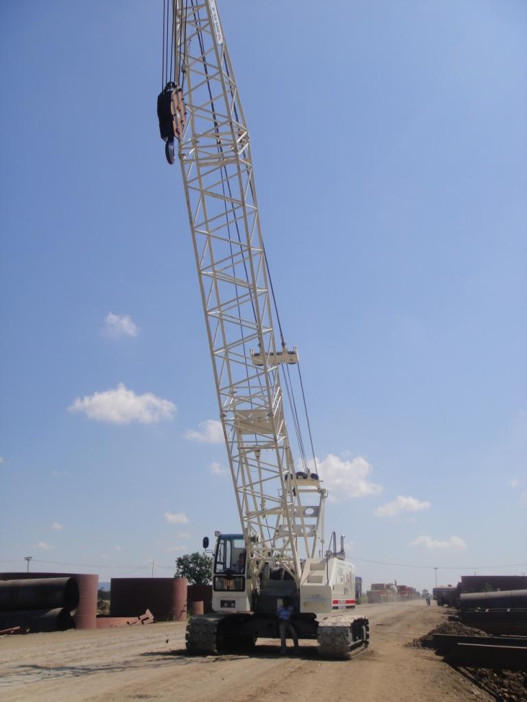 Fuva 80T Crane