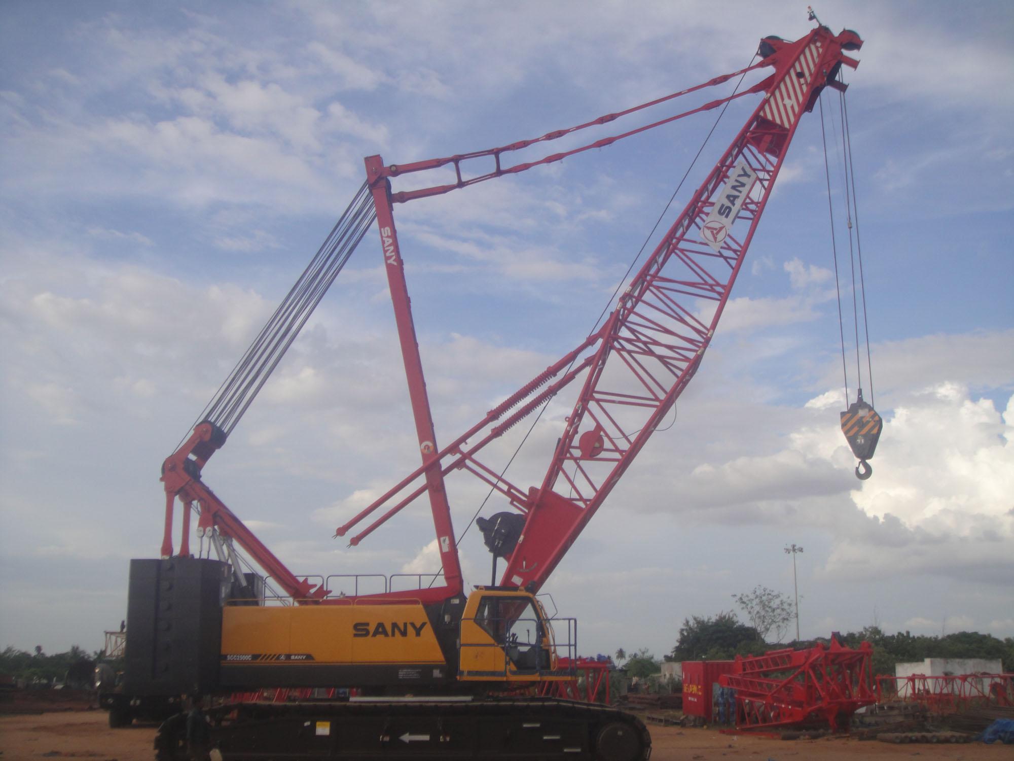 Sany 250T Crane